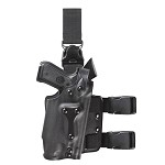 Safariland 6035 SLS Tactical Holster with Quick-Release Leg Strap for light bearing weapons