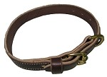 Top Dawg Single Ply Leather Collar