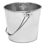 13 qt. Stainless Steel Pail