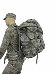 8 Pocket  Ruck Sack w/frame