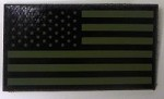 OD Green Infrared US Flag